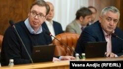 Odluka francuskog suda isključivo politička, poručio Vučić nakon vanredne sednice Vlade Srbije
