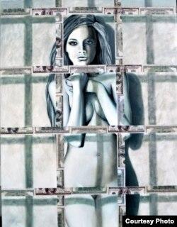 Оксана Танасів. Мовчання. Колекція Dollar Art. 2016 р.