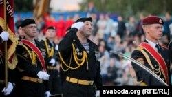 Репетиция к параду ко Дню независимости, Беларусь