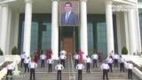 Туркмения делает зарядку (видео)