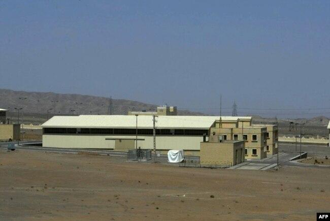 Иранский ядерный завод в Натанце
