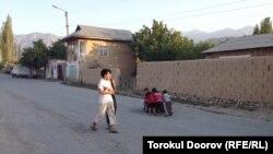 Село Ак-Сай в Баткенской области.