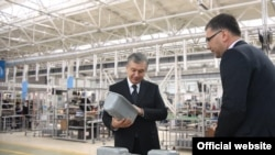 According to a TV report, President Mirziyoev was satisfied with the quality of the devices made by Texnopark.