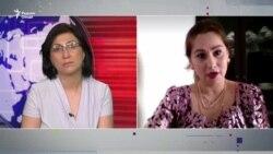"""Шабнам Худойдодова: """"Аз сиёсат канор рафтам"""""""