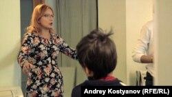 Светлана Изамбаева на тренинге для ВИЧ-инфицированных подростков. Казань, 30 октября 2016 г.