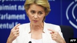 Nova predsednica Evropske komisije Ursula fon der Lejen