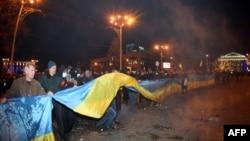 2014 год. Последняя проукраинская акция в Донецке