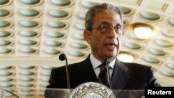 Один из возможных кандидатов в президенты Египта, бывший генсек ЛАГ Амр Мусса