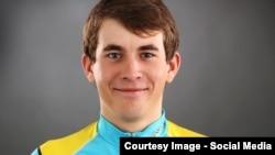 """""""Астана"""" құрлықтық велоспорт командасының мүшесі Артур Федосеев. Сурет команданың ресми сайтынан алынды."""