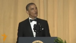 Obama Cracks Putin Jokes At White House Correspondents' Dinner