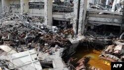 Саяно-Шушенская ГЭС после катастрофы