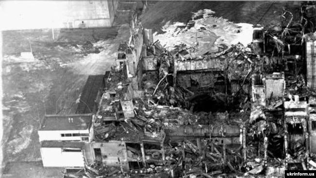 Чернобыль АЭС-і апаты