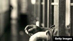 Prison Behind Bars Hands