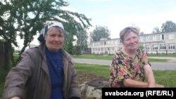 Галіна Кацуба й Кацярына Рагожнік (справа)