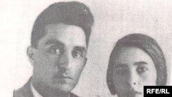 Dilguşə xanım həyat yoldaşı Çingiz Cuvarlıyla, 1938