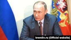 Vladimir Putin Qırımda