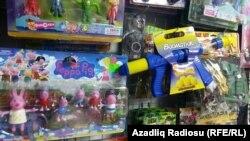 Çin istehsallı oyuncaqlar. 02dek2016