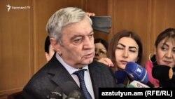 Министр по чрезвычайным ситуациям Феликс Цолакян (архив)