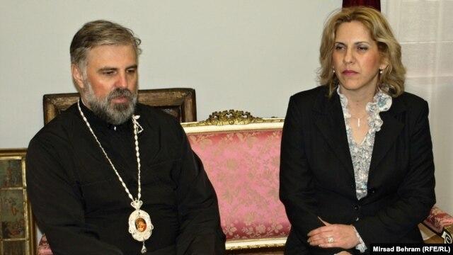 Vladika Grigorije i Željka Cvijanović