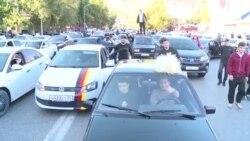 Как в Дагестане праздновали победу Хабиба