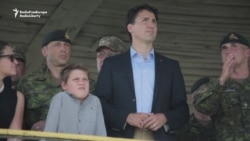 Canadian PM Trudeau Visits Troops In Ukraine
