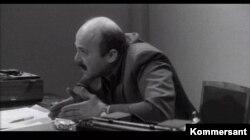 """Aktyor Aleksandır Kalyaqin """"İstintaq"""" filmində müstəntiq Seyfi Qəniyev rolunda."""