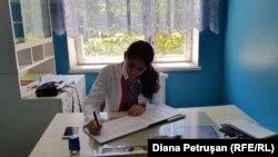 Medic de familie la Tomai, Leova.