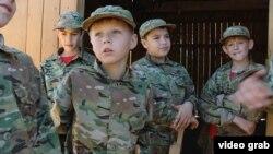 Ukraynada uşaqları müharibəyə hazırlaşdırırlar
