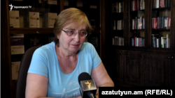 Armenia- Armenian Constitutional Сourt member Alvina Gyulumian, Yerevan,13Aug2019