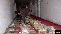 یکی از کشفهای پیشین سلاح قاچاق در افغانستان