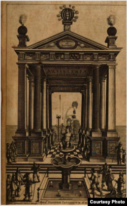 «Artis Magnæ Artilleriæ pars prima» («Вялікага мастацтва артылерыі першая частка»). Амстэрдам, 1650