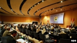 Iraq -- A general view of the Iraqi parliament session in Baghdad,