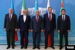 Министры иностранных дел прикаспийских стран в Астане.