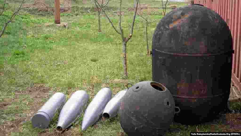 Cнаряди та ракети, які проходитимуть утилізацію