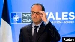 Францускиот претседател Франсоа Оланд.