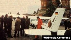 Mathias Rust landed his Cessna right in front of the Kremlin on May 28, 1987.