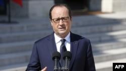 Presidenti francez, Francois Hollande (ARKIV)