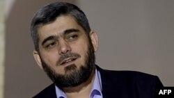 Мохаммед Аллуш, главный переговорщик оппозиционной переговорной группы Сирии.