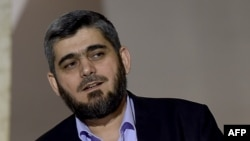 Mohammed Alloush, Syrian opposition negotiator and a member of Jaish Al-Islam, one of two groups Russia sought to blacklist at the UN