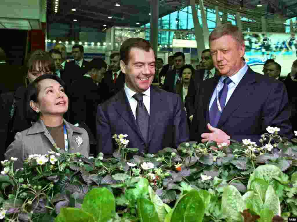 Российский президент Дмитрий Медведев выступил на Международном экономическом форуме в Санкт-Петербурге (ИТАР-ТАСС)