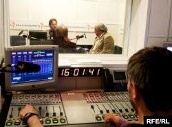 Студия Радио Свобода в Москве