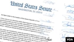 Imagine a scrisorii senatorilor
