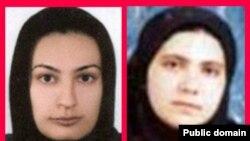 روناک صفار زاده (چپ) و هانا عبدی روز سوم مهرماه سال گذشته بازداشت شدند.