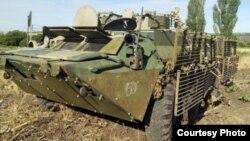 Ukrayna istehsalı olan BTR