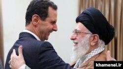 بشار اسد روز دوشنبه در تهران با علی خامنهای دیدار کرد.