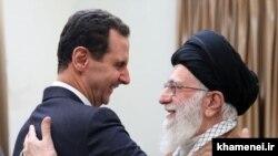 Bashar Assad meet with Ayatollah Ali Khamenei in Tehran on, Feb.25