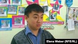 Алексей Ли, участник молодежной практики. Темиртау, 17 июля 2013 года.