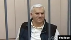 Makhachkala Mayor Said Amirov in detention on June 2