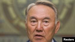 Президент Казахстана Нурсултан Назарбаев. Алматы, 2 августа 2011 года.