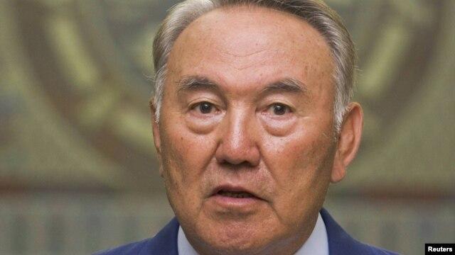Қазақстан президенті Нұрсұлтан Назарбаев. Алматы, 2 тамыз 2011 жыл.